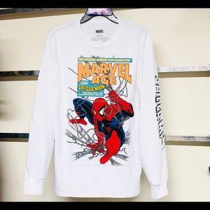 Marvel age spiderman long sleeve tee
